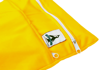 Tygblöjor tvättpåse citron